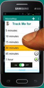 Track Me button 02