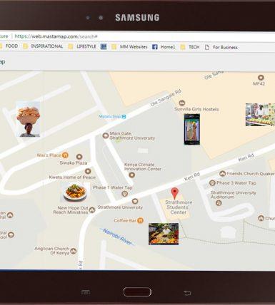 MastaMap Map of SMEs