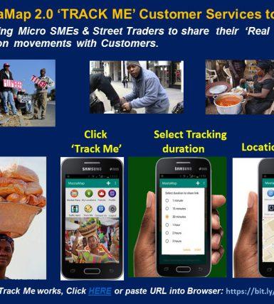 MastaMap 'Track Me' – User Testers