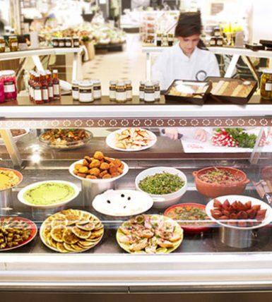 SELFRIDGES FOOD HALL, LONDON