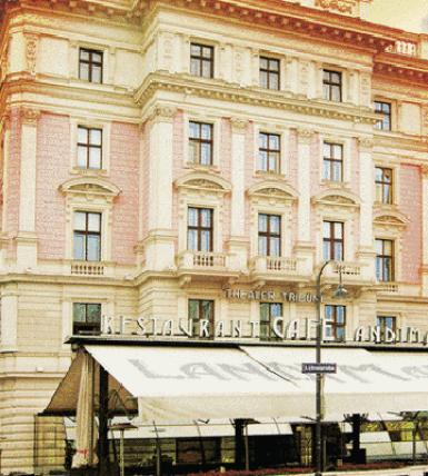 Cafe Landtmann – Vienna.  MASTAMAP Location Code: AT3JP0